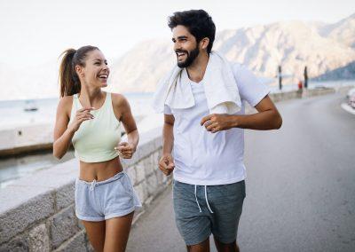 Ausdauersport oder doch besser im Sprint? Unsere Gene wissen es.